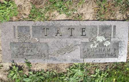 TATE, GRUSHAM RUFUS - Benton County, Arkansas | GRUSHAM RUFUS TATE - Arkansas Gravestone Photos