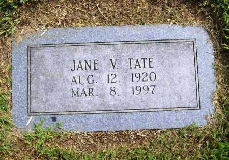 TATE, JANE V. - Benton County, Arkansas | JANE V. TATE - Arkansas Gravestone Photos