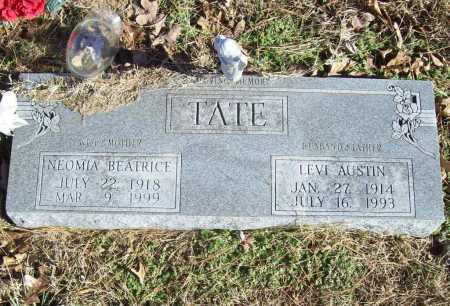 TATE, NEOMIA BEATRICE - Benton County, Arkansas | NEOMIA BEATRICE TATE - Arkansas Gravestone Photos