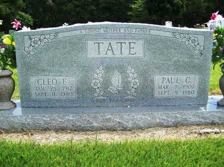 TATE, CLEO E. - Benton County, Arkansas | CLEO E. TATE - Arkansas Gravestone Photos