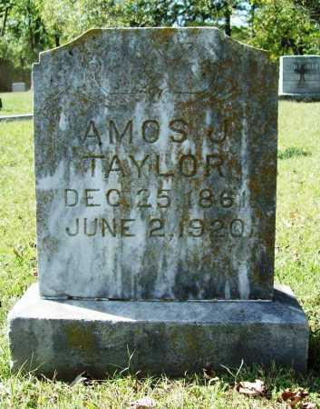 TAYLOR, AMOS J. - Benton County, Arkansas | AMOS J. TAYLOR - Arkansas Gravestone Photos