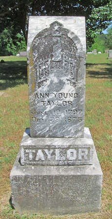 YOUNG TAYLOR, ANN - Benton County, Arkansas | ANN YOUNG TAYLOR - Arkansas Gravestone Photos