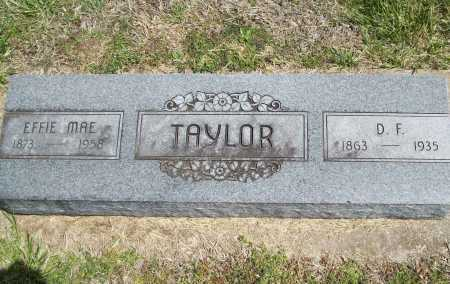 TAYLOR, EFFIE MAE - Benton County, Arkansas | EFFIE MAE TAYLOR - Arkansas Gravestone Photos