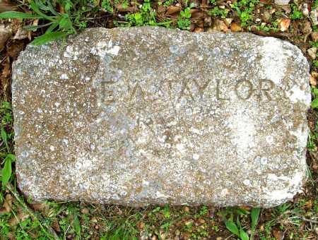 TAYLOR, E. A. - Benton County, Arkansas | E. A. TAYLOR - Arkansas Gravestone Photos