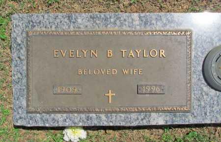 TAYLOR, EVELYN B, - Benton County, Arkansas | EVELYN B, TAYLOR - Arkansas Gravestone Photos
