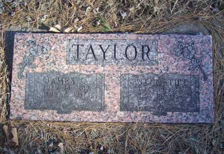 "WOODRUFF TAYLOR, ESTENETH TENNESSEE ""TENNIE"" - Benton County, Arkansas 