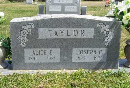 TAYLOR, ALICE E. - Benton County, Arkansas | ALICE E. TAYLOR - Arkansas Gravestone Photos