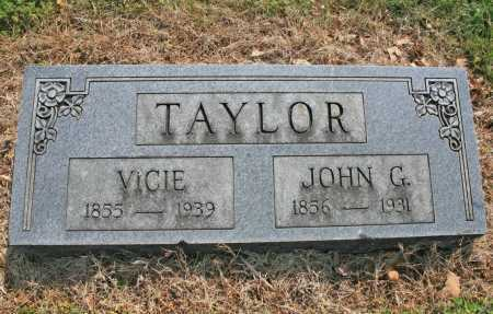 TAYLOR, VICIE - Benton County, Arkansas | VICIE TAYLOR - Arkansas Gravestone Photos