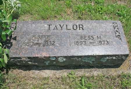 TAYLOR, BESS M (ORIGINAL) - Benton County, Arkansas | BESS M (ORIGINAL) TAYLOR - Arkansas Gravestone Photos