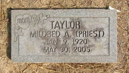TAYLOR, MILDRED A. - Benton County, Arkansas | MILDRED A. TAYLOR - Arkansas Gravestone Photos