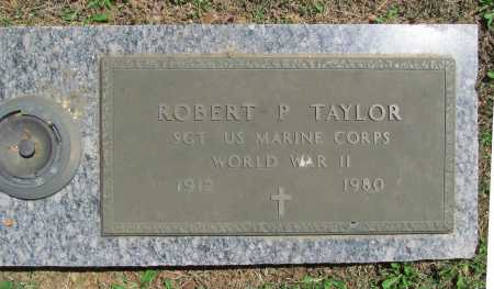 TAYLOR (VETERAN WWII), ROBERT P. - Benton County, Arkansas | ROBERT P. TAYLOR (VETERAN WWII) - Arkansas Gravestone Photos