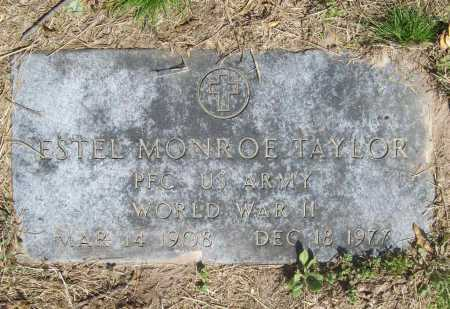 TAYLOR (VETERAN WWII), ESTEL MONROE - Benton County, Arkansas | ESTEL MONROE TAYLOR (VETERAN WWII) - Arkansas Gravestone Photos