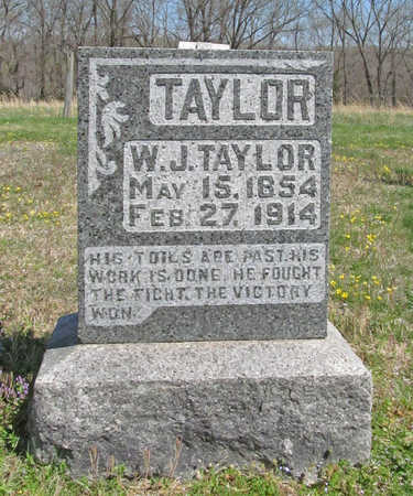 TAYLOR, WILLIAM J. - Benton County, Arkansas | WILLIAM J. TAYLOR - Arkansas Gravestone Photos