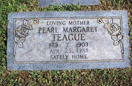TEAGUE, PEARL MARGARET - Benton County, Arkansas | PEARL MARGARET TEAGUE - Arkansas Gravestone Photos