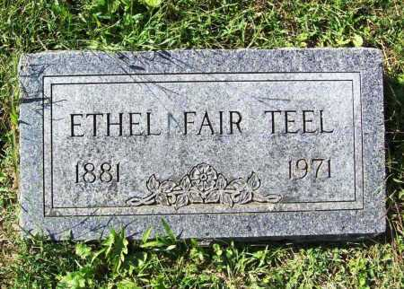 TEEL, ETHEL - Benton County, Arkansas | ETHEL TEEL - Arkansas Gravestone Photos