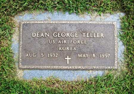 TELLER (VETERAN KOR), DEAN GEORGE - Benton County, Arkansas | DEAN GEORGE TELLER (VETERAN KOR) - Arkansas Gravestone Photos