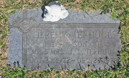 TERHUNE, JEREMY - Benton County, Arkansas | JEREMY TERHUNE - Arkansas Gravestone Photos