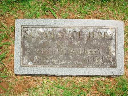 SMARTT TERRY, SUSAN ALICE - Benton County, Arkansas | SUSAN ALICE SMARTT TERRY - Arkansas Gravestone Photos