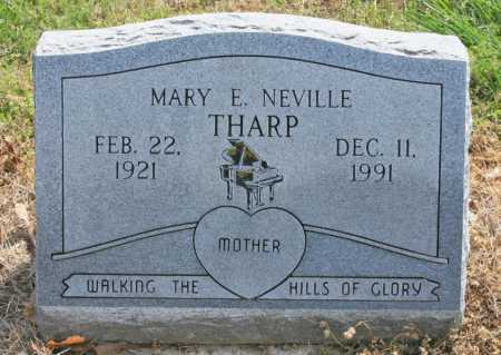 NEVILLE THARP, MARY ELIZABETH - Benton County, Arkansas | MARY ELIZABETH NEVILLE THARP - Arkansas Gravestone Photos