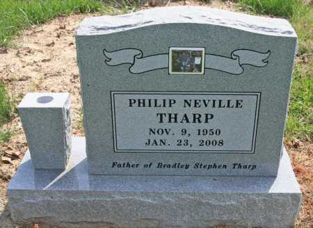 THARP (VETERAN), PHILIP NEVILLE - Benton County, Arkansas | PHILIP NEVILLE THARP (VETERAN) - Arkansas Gravestone Photos