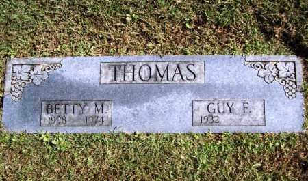 THOMAS, BETTY M. - Benton County, Arkansas | BETTY M. THOMAS - Arkansas Gravestone Photos