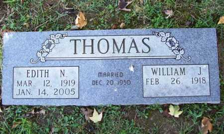 THOMAS, EDITH N. - Benton County, Arkansas | EDITH N. THOMAS - Arkansas Gravestone Photos