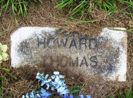 THOMAS, HOWARD - Benton County, Arkansas | HOWARD THOMAS - Arkansas Gravestone Photos