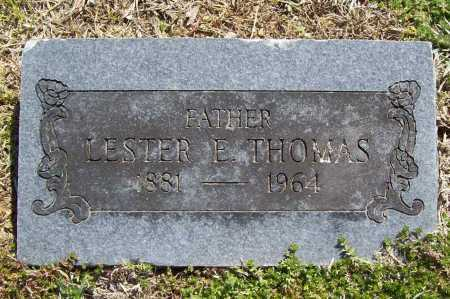 THOMAS, LESTER E. - Benton County, Arkansas | LESTER E. THOMAS - Arkansas Gravestone Photos
