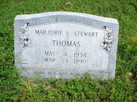 STEWART THOMAS, MARJORIE L. - Benton County, Arkansas | MARJORIE L. STEWART THOMAS - Arkansas Gravestone Photos