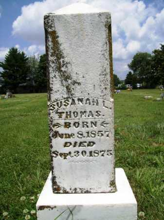 THOMAS, SUSANAH L. - Benton County, Arkansas | SUSANAH L. THOMAS - Arkansas Gravestone Photos