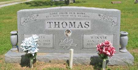 THOMAS, WINNIE - Benton County, Arkansas | WINNIE THOMAS - Arkansas Gravestone Photos