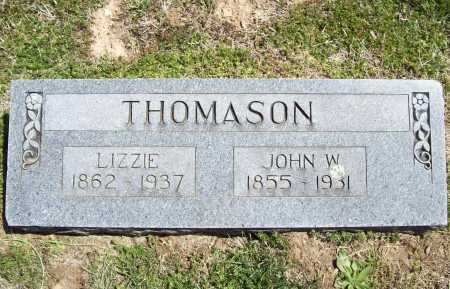 THOMASON, JOHN W. - Benton County, Arkansas | JOHN W. THOMASON - Arkansas Gravestone Photos