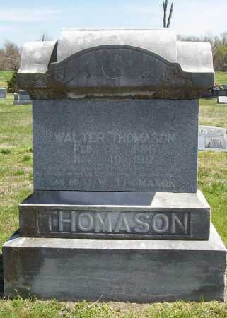 THOMASON, WALTER - Benton County, Arkansas | WALTER THOMASON - Arkansas Gravestone Photos