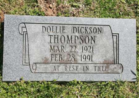 DICKSON THOMPSON, DOLLIE - Benton County, Arkansas | DOLLIE DICKSON THOMPSON - Arkansas Gravestone Photos