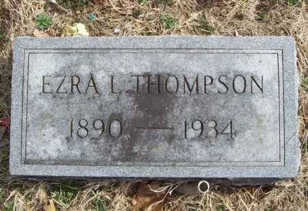 THOMPSON, EZRA LEE (2) - Benton County, Arkansas | EZRA LEE (2) THOMPSON - Arkansas Gravestone Photos