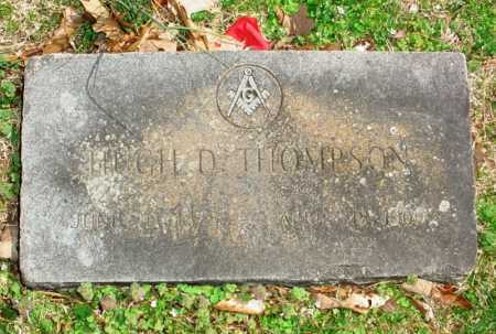 THOMPSON, HUGH D. - Benton County, Arkansas | HUGH D. THOMPSON - Arkansas Gravestone Photos