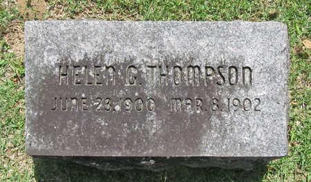 THOMPSON, HELEN G. - Benton County, Arkansas | HELEN G. THOMPSON - Arkansas Gravestone Photos