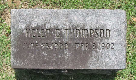THOMPSON, HELEN G - Benton County, Arkansas | HELEN G THOMPSON - Arkansas Gravestone Photos