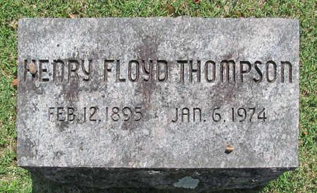 THOMPSON, HENRY FLOYD - Benton County, Arkansas | HENRY FLOYD THOMPSON - Arkansas Gravestone Photos