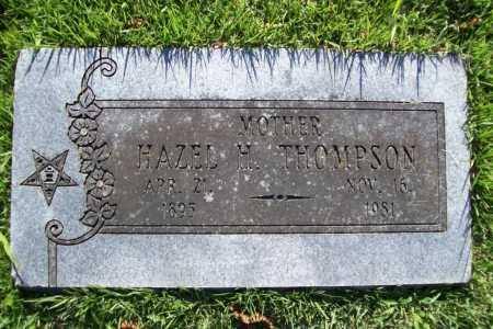 THOMPSON, HAZEL H. - Benton County, Arkansas | HAZEL H. THOMPSON - Arkansas Gravestone Photos
