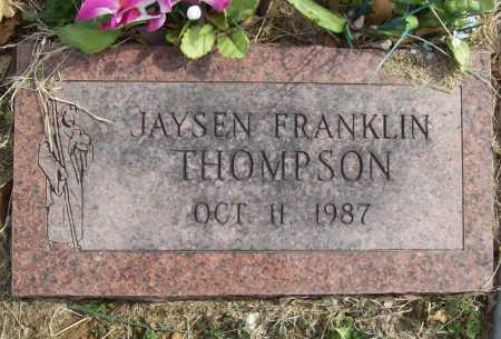 THOMPSON, JAYSEN FRANKLIN - Benton County, Arkansas | JAYSEN FRANKLIN THOMPSON - Arkansas Gravestone Photos