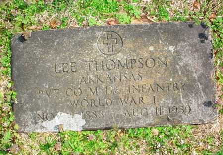 THOMPSON, LEE - Benton County, Arkansas | LEE THOMPSON - Arkansas Gravestone Photos