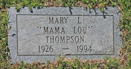 THOMPSON, MARY L - Benton County, Arkansas | MARY L THOMPSON - Arkansas Gravestone Photos