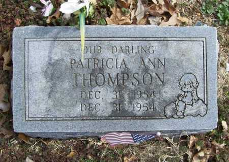 THOMPSON, PATRICIA ANN - Benton County, Arkansas | PATRICIA ANN THOMPSON - Arkansas Gravestone Photos