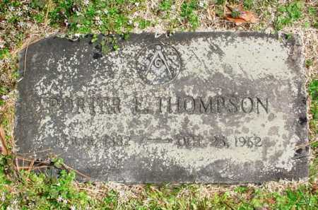 THOMPSON, PORTER E. - Benton County, Arkansas | PORTER E. THOMPSON - Arkansas Gravestone Photos