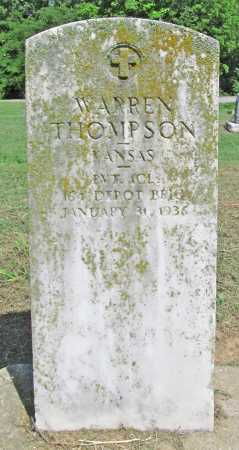 THOMPSON (VETERAN), WARREN - Benton County, Arkansas | WARREN THOMPSON (VETERAN) - Arkansas Gravestone Photos