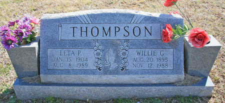 THOMPSON, LETA P - Benton County, Arkansas | LETA P THOMPSON - Arkansas Gravestone Photos