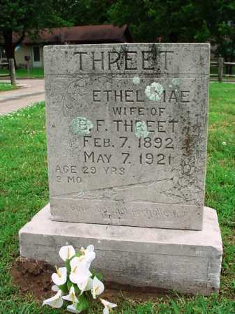 THREET, ETHEL MAE - Benton County, Arkansas | ETHEL MAE THREET - Arkansas Gravestone Photos