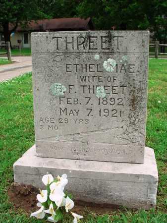 THREET, ETHEL MAE - Benton County, Arkansas | ETHEL MAE THREET - Arkansas Gravestone Photos