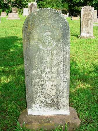 THREET, SARAH F. - Benton County, Arkansas | SARAH F. THREET - Arkansas Gravestone Photos